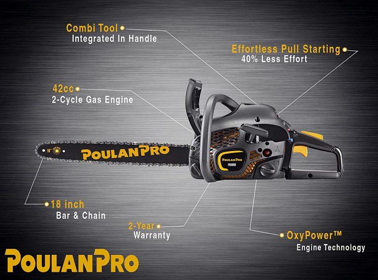 Poulan Pro 18 inch chain saw