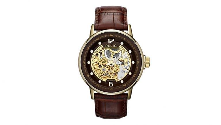Relic Skeleton Watches