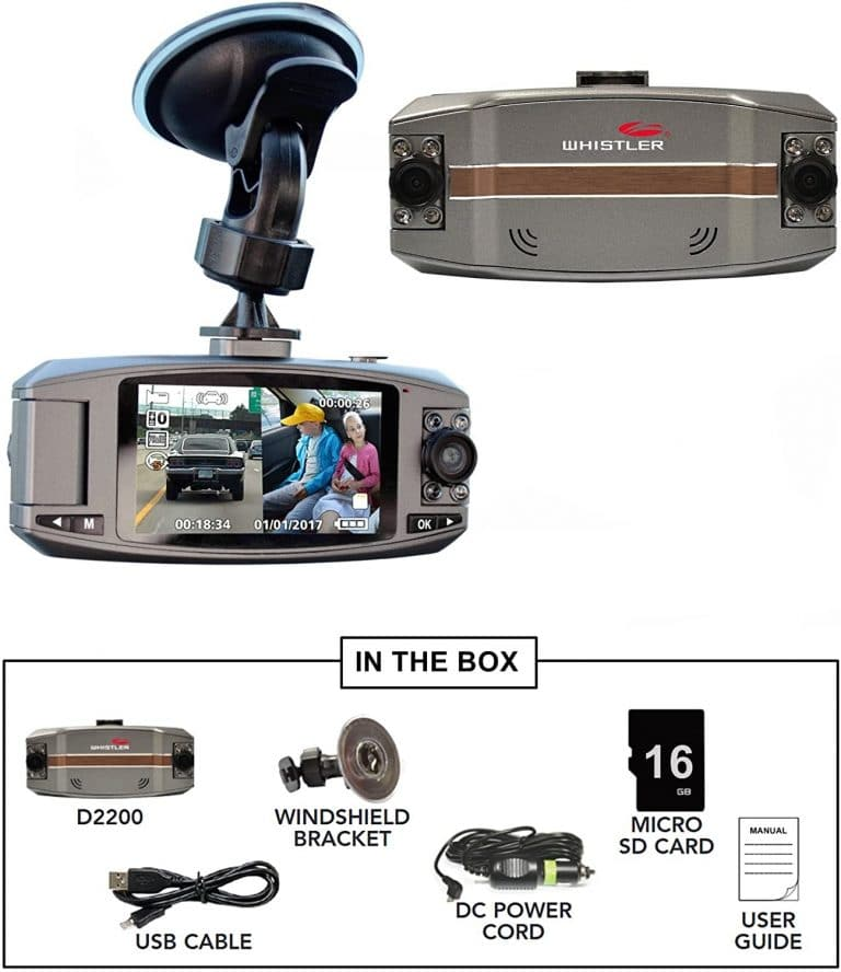 Whistler automotive dash cam