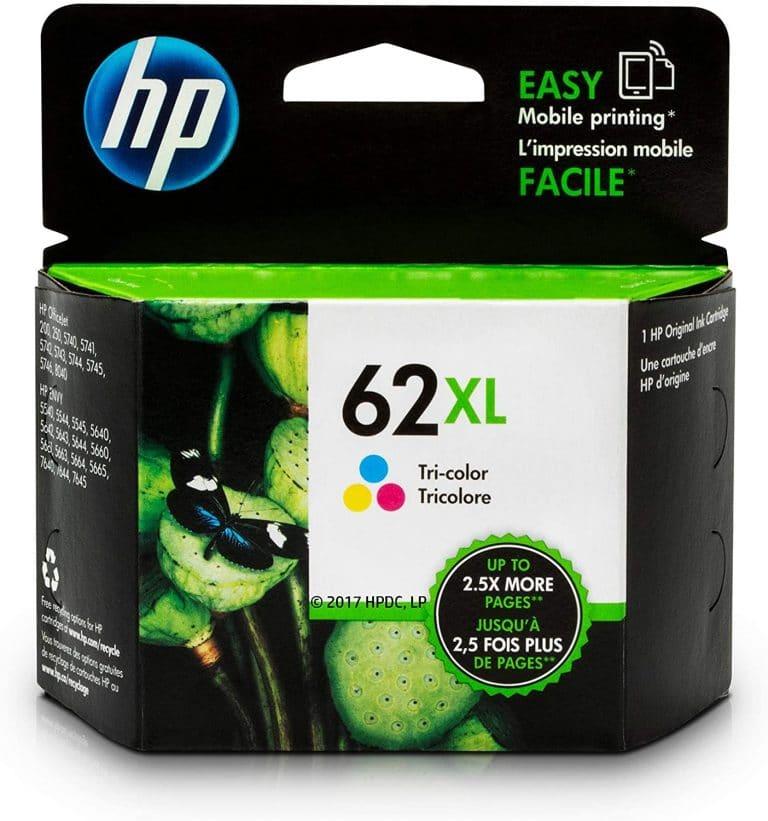 HP 62XL Ink Cartridge Tri-color C2P07AN